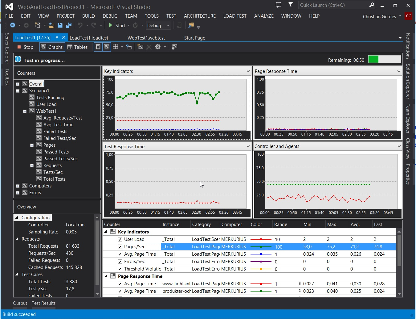 VS 2013 Black Edition Load Test
